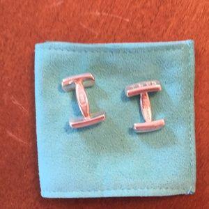Tiffany 1837 Sterling Silver Cuff Links